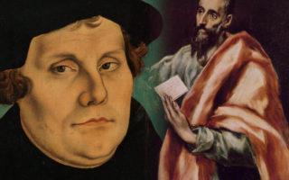 Den reformatoriske gnist - spalter Luther? Forener Paulus? Hvordan man økumenisk kan mindes reformationen