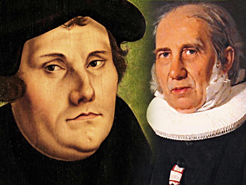 Den lutrede streng: Om Grundtvigs og Luthers salmer