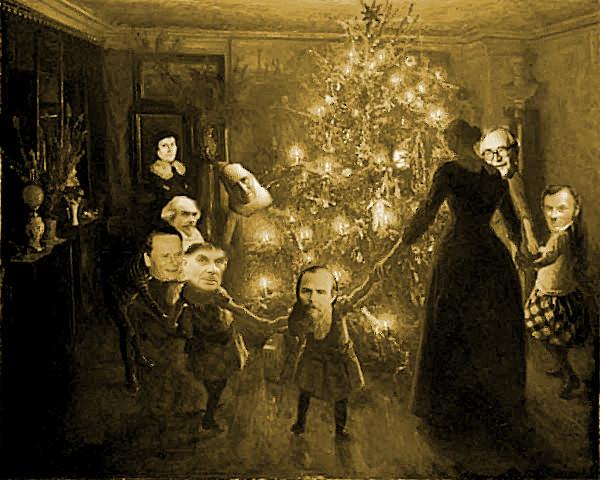 Højt fra træets grønne top... Fønix' julekonkurrence: Vind en valgfri bog fra Palmeserien!