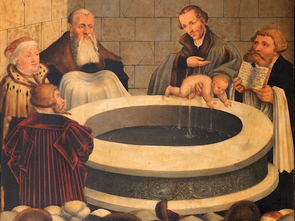 Dåbens fundament er Guds entydige, personlige tilsagn