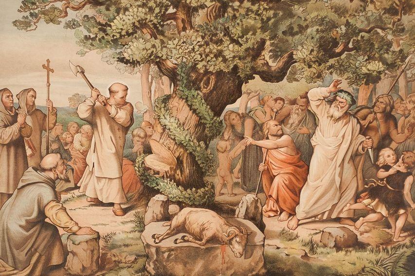 Historiske og nutidige overvejelser om hedenskab og kristendom